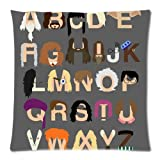 Harry Potter ALPHABET Movie Series Throw Pillow Case Cushion Cover