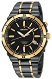 SEIKO Watches:Men's Seiko® Black Ion Kinetic Watch