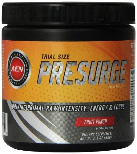 Athletic Edge Nutrition Presurge Trial Size, Fruit Punch, 60 Gram