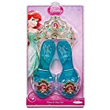 Disney Princess Ariel Enchanted Evening Shoes and Tiara Set