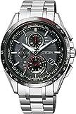 [シチズン]CITIZEN 腕時計 ATTESA エコ・ドライブ電波時計 日中米欧電波受信 AT8144-51E メンズ