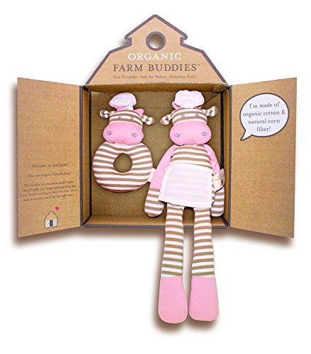 Organic Farm Buddies, Chef Cow Gift Set - 1
