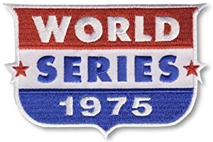 2 Patch Pack - 1975 World Series MLB Baseball Collectors Patches - Cincinnati Reds... by Hall of Fame Memorabilia
