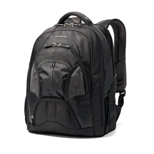 Samsonite Techtonic Large Backpack, Black, One Size