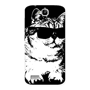 Gorgeous Thug Cat Back Case Cover for Honor Holly
