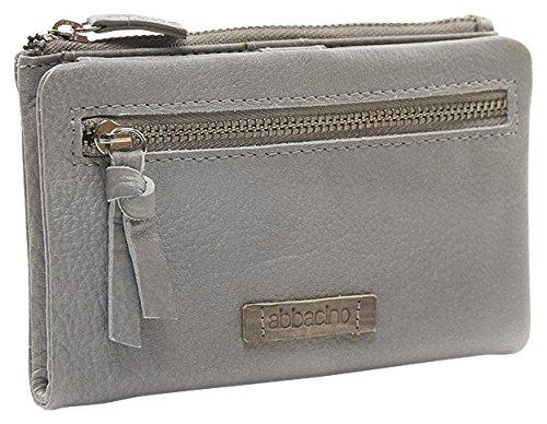 ABBACINO SS16 Wallet Perissa, Frizione Donna, Grigio (Stone Grey), Taglia Unica