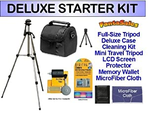 DELUXE Starter Package for the Fujifilm FinePix JZ100, JZ250, JZ300, S4200, S4500 Digital Cameras. Includes Everything You Need To Get Started!