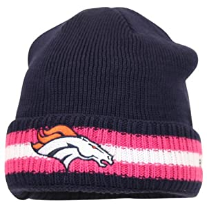 NFL Breast Cancer Awareness Sideline Cuffed Winter Knit Hat by NFL