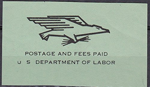 Usa Postage Stamps - Postage And Fees Paid U.S. Department Of Labor