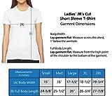 #proximity - Hashtag Ladies' Junior's Cut T-Shirt, Blue, Large