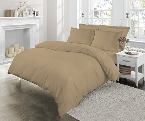 luxury-180-threads-percale-duvet-cover-set-by-sleepbeyond-king-biscuit
