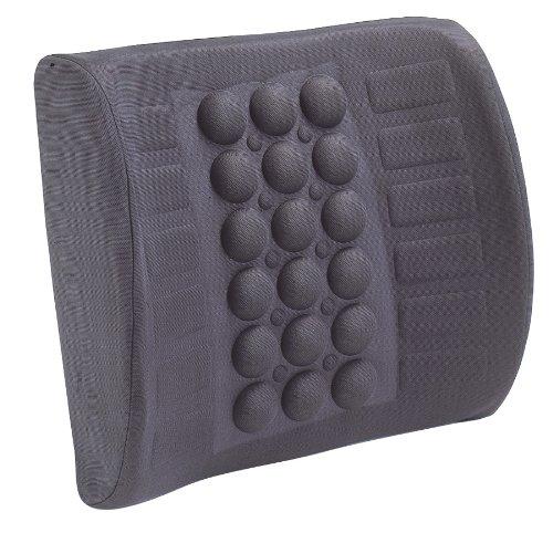Custom Accessories 16366 Grey Lumbar Wedge Seat Cushion