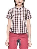 Salewa Camisa Mujer Hanne Dry W (Rosa / Negro)