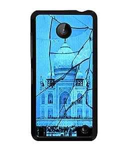 Fuson 2D Printed Taj Mahal Designer back case cover for Nokia Lumia 630 - D4505