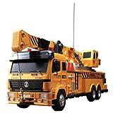 大型RC建機シリーズ クレーントラック (1/18スケール 電動ラジオコントロール)