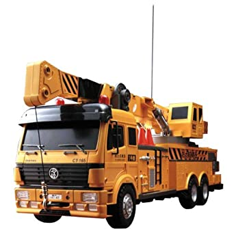 amazoncom hobby engine remote control crane truck toys