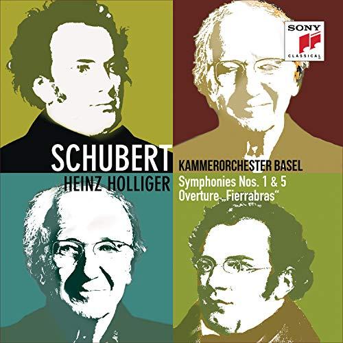 CD : KAMMERORCHESTER BASEL / HOLLIGER,HEINZ - Schubert: Symphonies 1 & 5 Fierrabras Overture