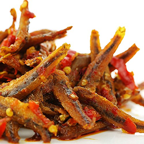 Fancci Chinese Special Snack Food : LinWu DongJiang Dry Spicy Fish 东江鱼 香辣小鱼仔 235g (Chinese Fish compare prices)