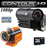 VholdR ContourHD 1080p HD Helmet Wearable Camcorder + VholdR Waterproof Case + Micro SD 8GB Memory Card gadgets