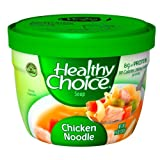 Healthy Choice Microwave Chicken Noodle Soup, 14-Ounce(Pack of 12) ~ Healthy Choice