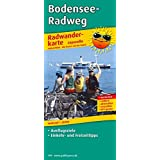 Radwanderkarte Bodensee-Radweg: Mit Ausflugszielen, Einkehr- und Freizeittipps, reissfest, wetterfest, abwischbar, GPS-genau. 1:50000