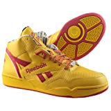 Reebok Sir Jam Mid DHL Yellow & Red