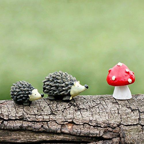bestim-incuk-miniature-fairy-garden-hedgehog-mushroom-home-decoration-outdoor-decor