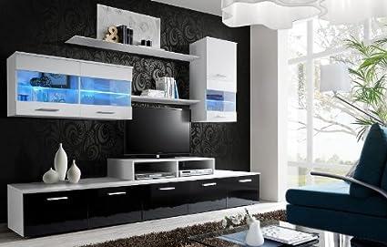 """""""II"""" LOGO SCHWARZ / TV / SCHRÄNKE / TV STÄNDER / TV / ANRICHTETISCH / ENTERTAINMENT"""