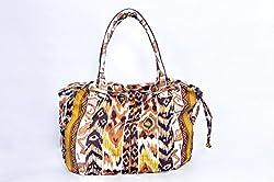 Osai Womens Shoulder Bag (Yellow) (SAS08)