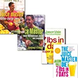 Jason Vale Jason Vale The Juice Master's Collection 4 Books Set, (The Juice Master: Turbo-charge Your Life in 14 Days, Juice Master Keeping It Simple: Over 100 Delicious Juices and Smoothies, The Juice Master Diet and 7lbs in 7 Days Super Juice Diet)