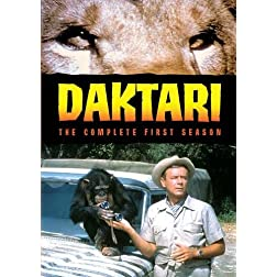 Daktari The Complete First Season (5 Discs)