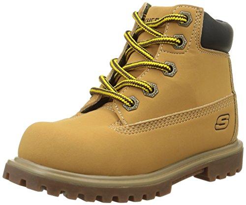 skechers-mecca-desert-boots-garcons-jaune-wtn-miel-35-eu