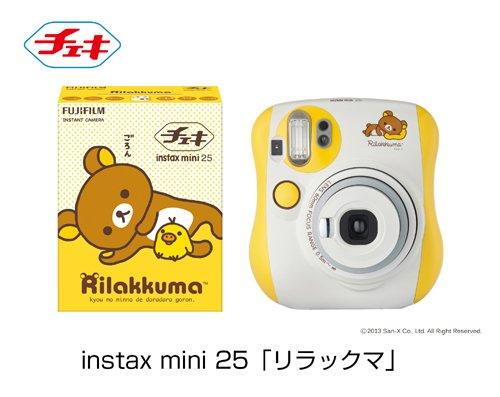 インスタントカメラ チェキ instax mini 25 リラックマ