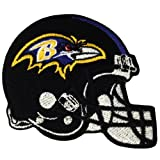 Baltimore Ravens Helmet Logo Embroidered Iron Patches