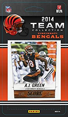 Cincinnati Bengals 2014 Score NFL Football Factory Sealed 13 Card Team Set with Andy Dalton, Green, Giovani Bernard, Mccarron Plus