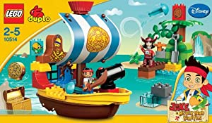 Lego Duplo Jake 10514 - Piratenschiff Bucky