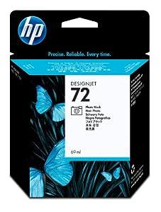 HP 72 (C9397A) Photo Black OEM Genuine Inkjet/Ink Cartridge (69 ml) - Retail