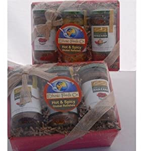 Indian Food Gift - Spicy Pickles from Indian Foods Company