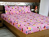 Decorous Print Styled Double Bed Sheet