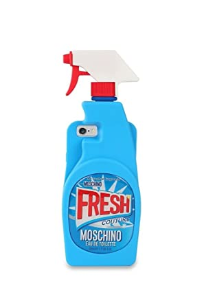 Amazon.com: IPhone 5 Case, TingTang Moschino Cleaning Spray Bottle ...