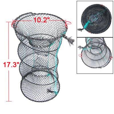Como Crab Trap Double Entrance Nylon Fishing Net Black Green
