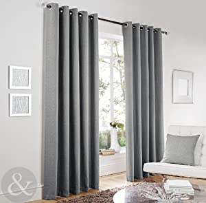 Image Result For Silver Grey Curtains With Eyelets