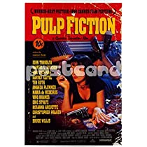 Pulp Fiction~ Pulp Fiction Postcard~ Rare Postcard!!~ Approx 4x6