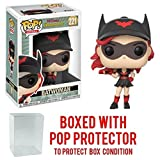 Funko Pop! Heroes: DC Bombshells - Batwoman Vinyl Figure (Bundled with Pop BOX PROTECTOR CASE) (Tamaño: 3.75 inches)