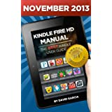 Kindle Fire HD Manual - Learn how to use your Amazon Tablet, Find new releases, Free Books, Download Youtube Videos... by David Garcia  (Dec 23, 2012)