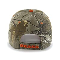 NFL Chicago Bears '47 Frost MVP Camo Adjustable Hat, One Size Fits Most, Realtree Camouflage by Twins Enterprise/47 Brand