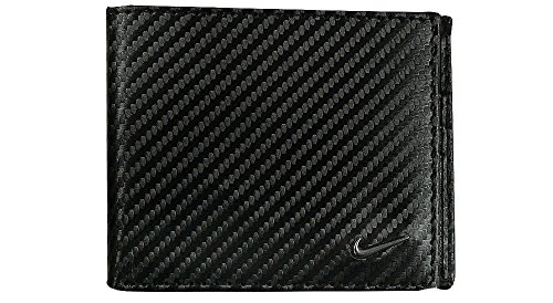 Nuovo Originale Nike Golf da uomo a portafoglio in pelle (con confezione regalo)-67145, Black (nero) - 840766145542