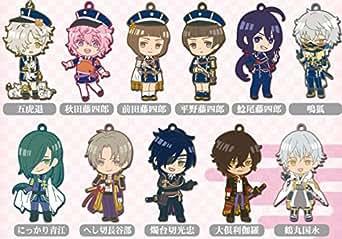刀剣乱舞-ONLINE- ちび刀剣男士ラバーストラップコレクション 第ニ弾 BOX商品 1BOX=12個入り、全11種類