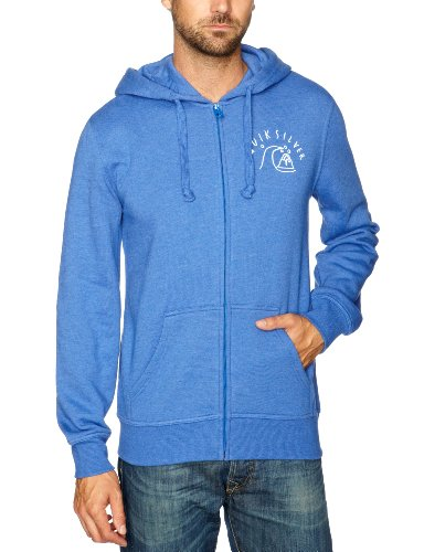 Quiksilver Marle Zip-KPMSW912 Men's Sweatshirt Cobalt Medium
