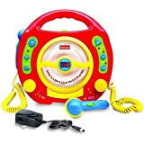 Kids CD Player - Karaoke Machine For Kids - 2 Sing Along Microphones for Karaoke & Fun! CD/MP3 Player with Anti-skip Protection. Great Gift!